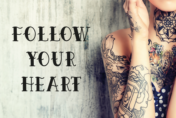Epic Tattoo Typeface Font
