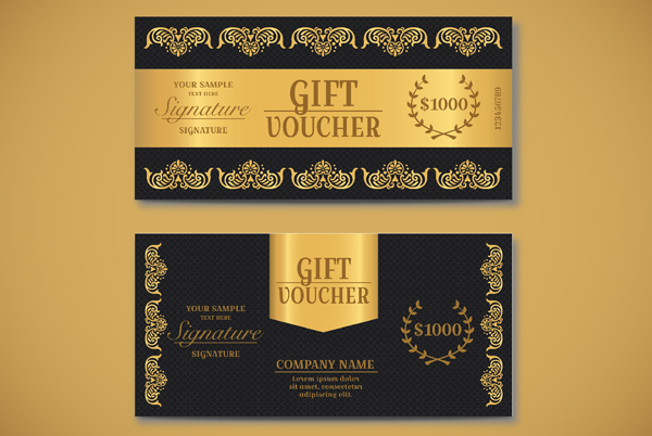 Exclusive Gift Voucher Template