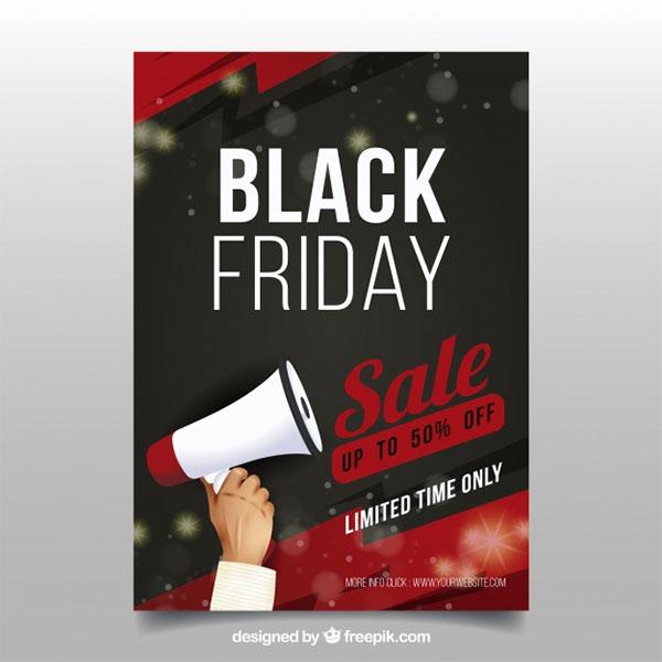 Free Black Friday Flyer Design Template