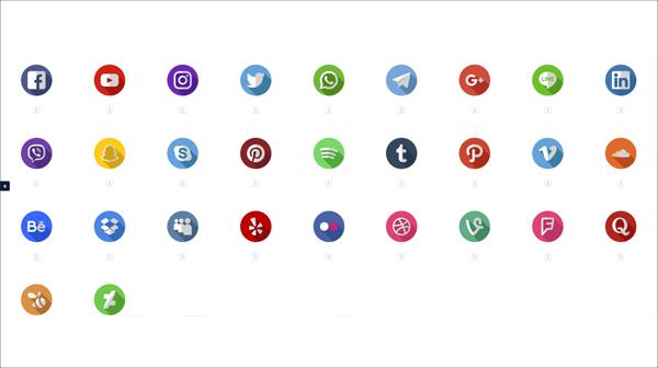 Free High Quality Social Media Icons