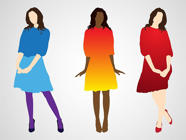 Free Vector Fashion illustrations