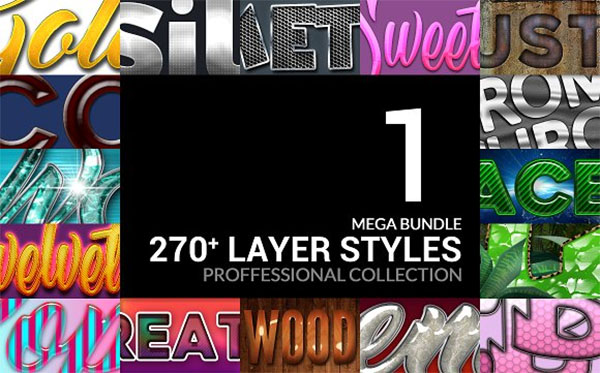 Game Layer Styles Mega Bundle