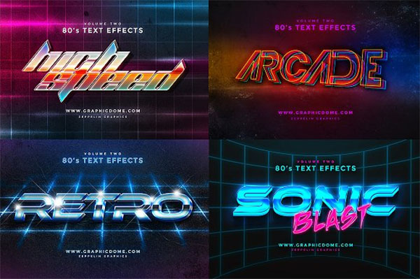 Game Photoshop Text Effects