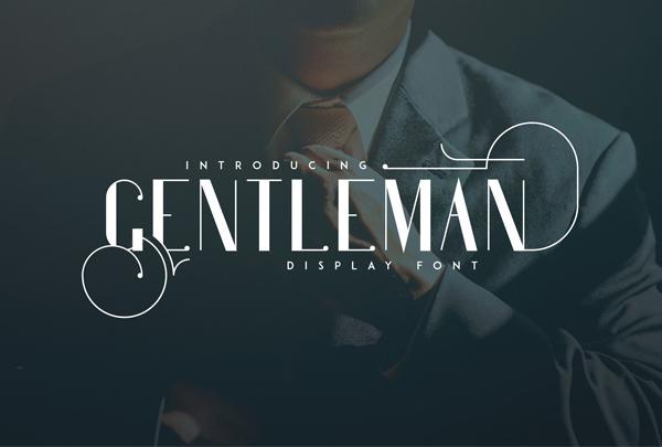 Gentleman Logo Font