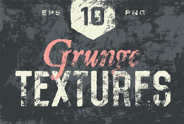 Grunge Textures Design Template