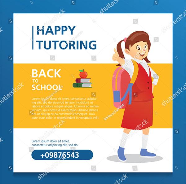 Happy Tutoring Kids Poster