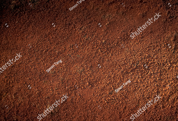 Image of Red Soil Dirt Texture