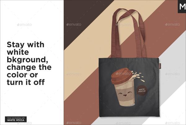 Linen Tote Bag Mockup