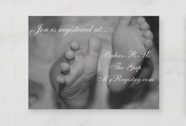 Little Newborn Photographer Business Card