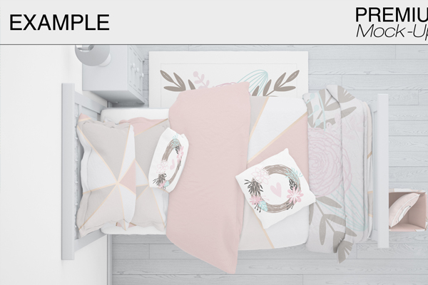 Modern Photorealistic Kids Bedding Set