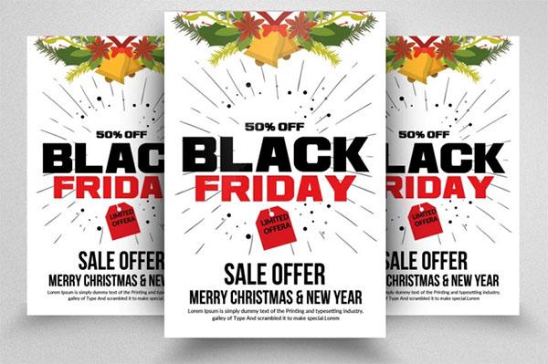 PSD Black Friday Flyers Designs