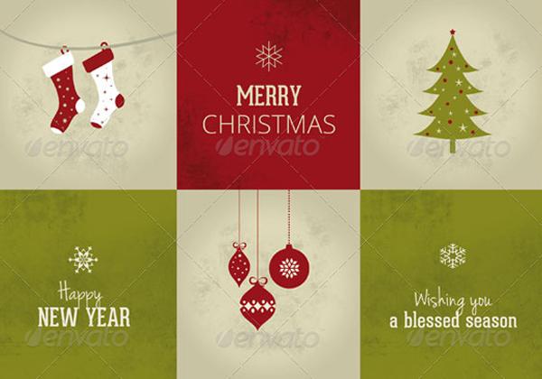 PSD Merry Christmas Card Template