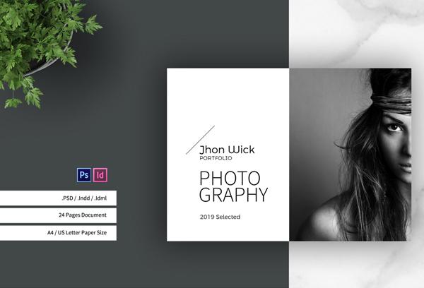 Wedding Photographer Portfolio Template