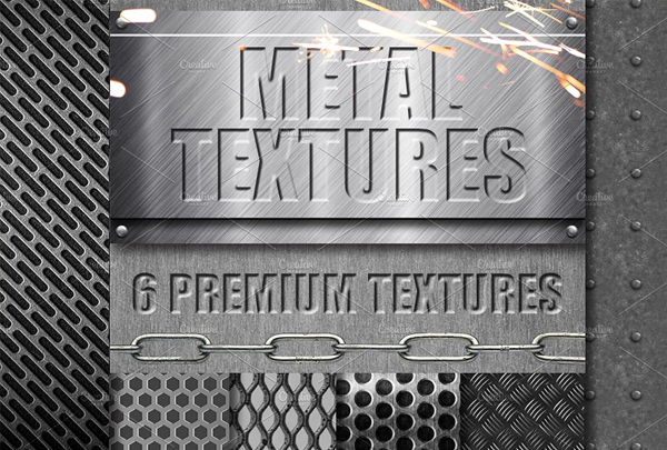 Premium Metal Photoshop Textures