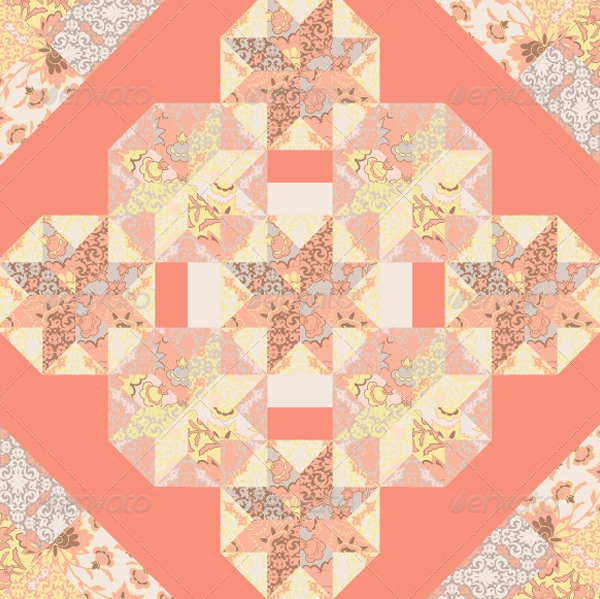 Quilt Abstract Seamless Pattern