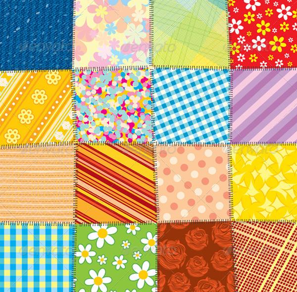 Quilt Patchwork Texture