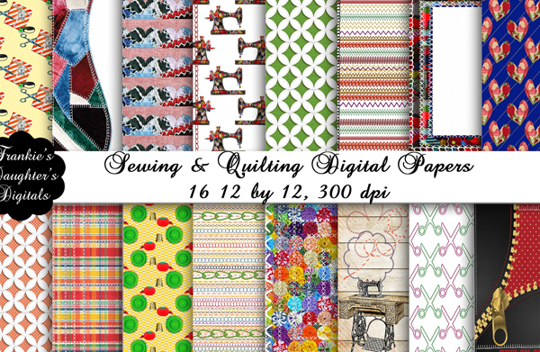 Quilting Digital Papers