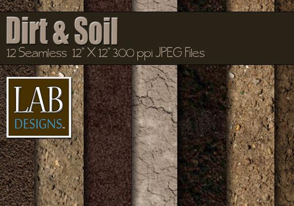 Seamless Dirt & Soil Textures