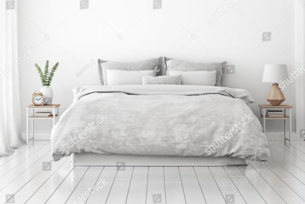 Simple Bedding PSD Mockup