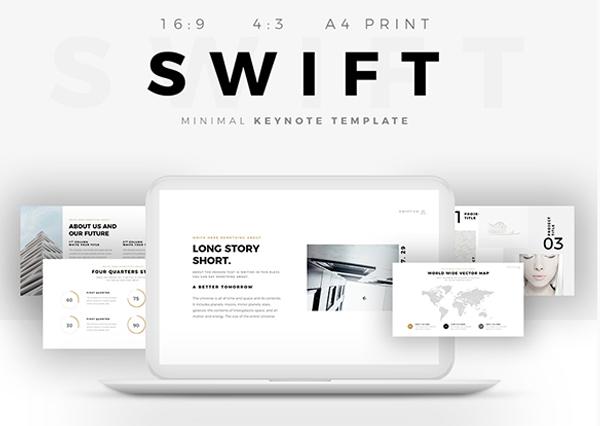 Swift Minimal Keynote Template Builder