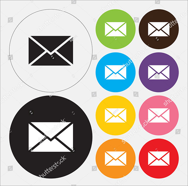 Technology Email Vector Symblos