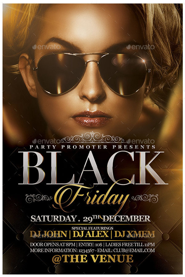 The Black Friday Flyer Template