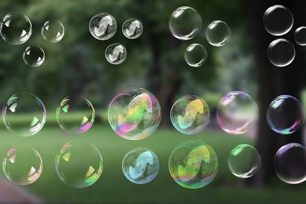 Transparent Bubble Background