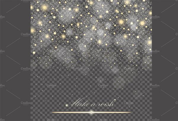 Transparent Glitter Particles