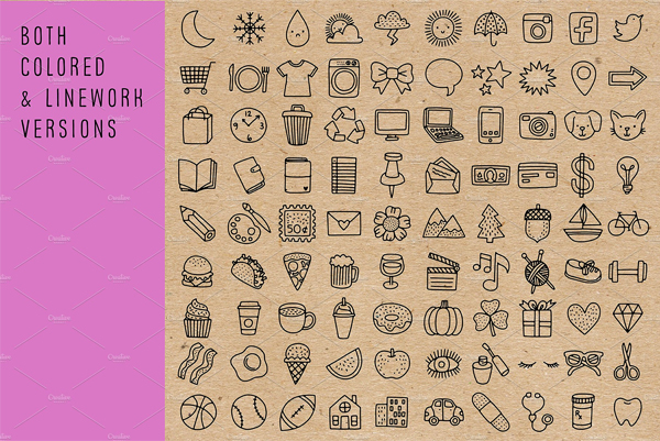 Vector Planner High Quality Icons