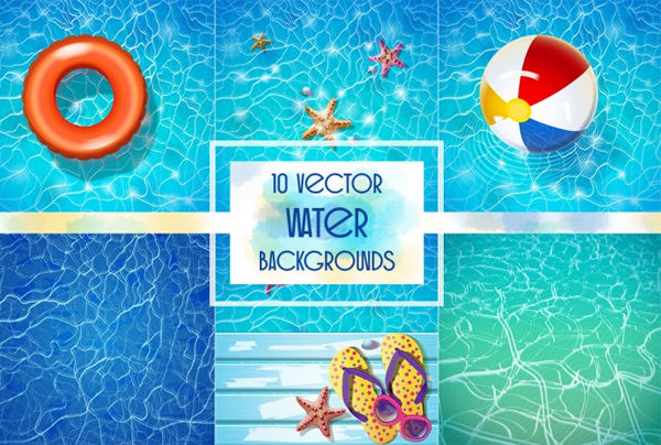 Vector Water Backgrounds
