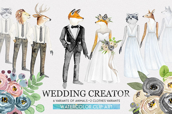 Wedding Character Patterns