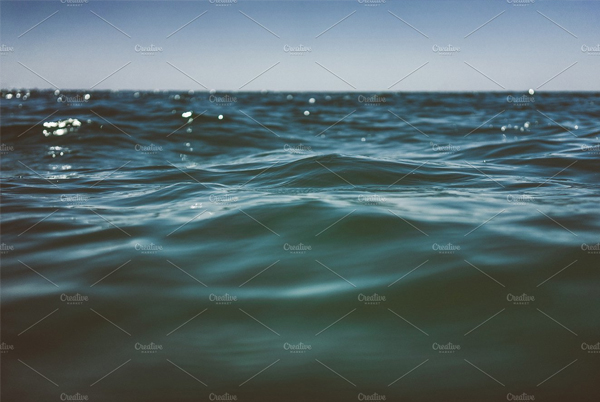 Water Surface Wave Background