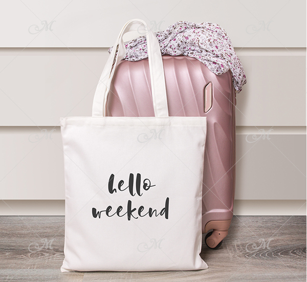 Weekend Bag Mockup