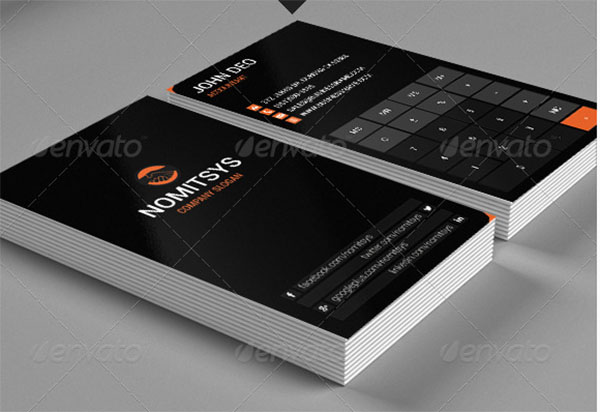Accountant Busines Card Design Template