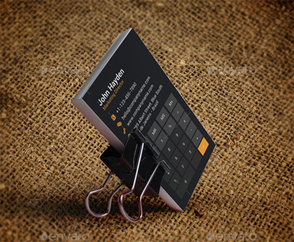 Accountant Business Card Design