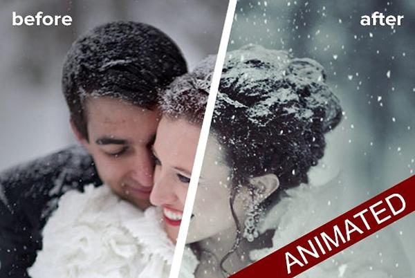 Animated Snow Generator in Photoshop