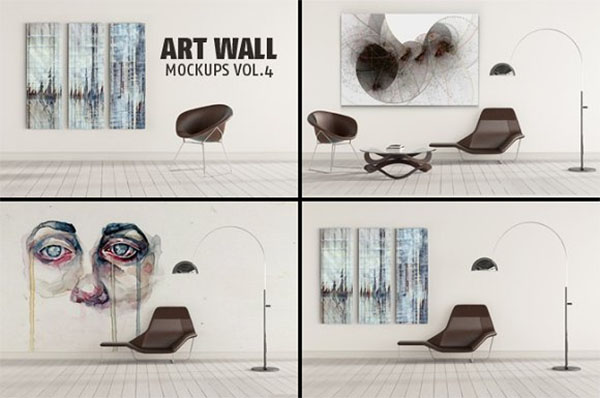Art Mockups Design Template