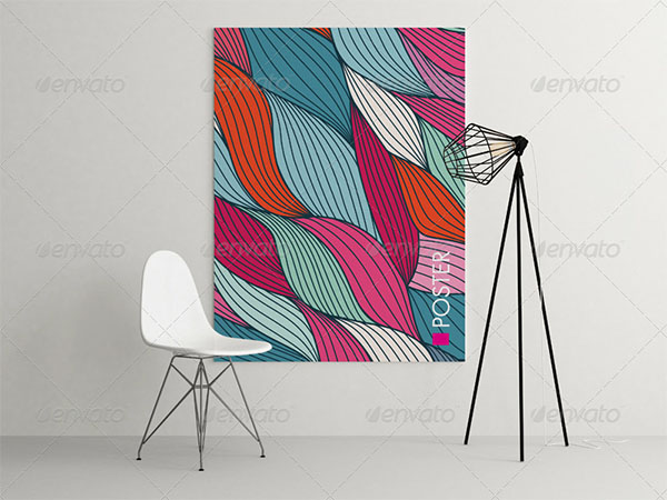 Art Wall Mock-up Template