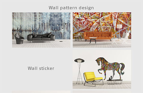 Art Wall Mock-ups Bundle