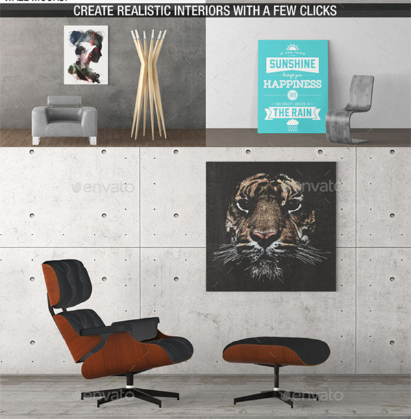 Art Walls Mockup Templates