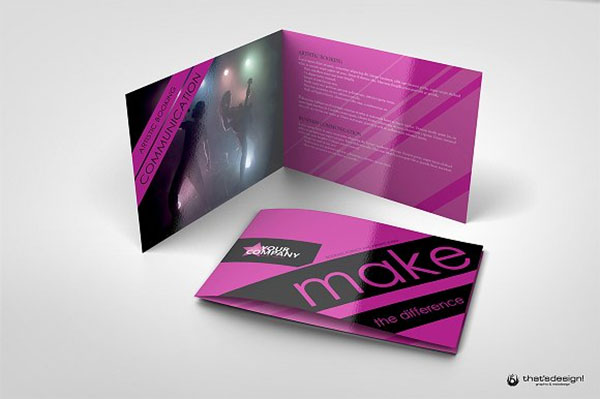 Artistic Event Brochure Templates