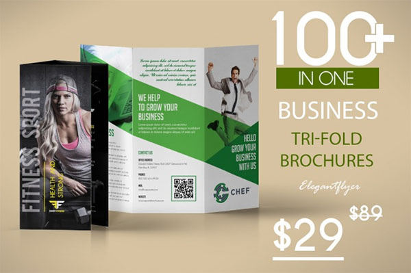 Awesome Business Tri-fold Brochures