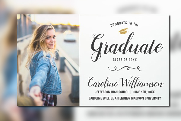 Awesome Graduation Party Banner