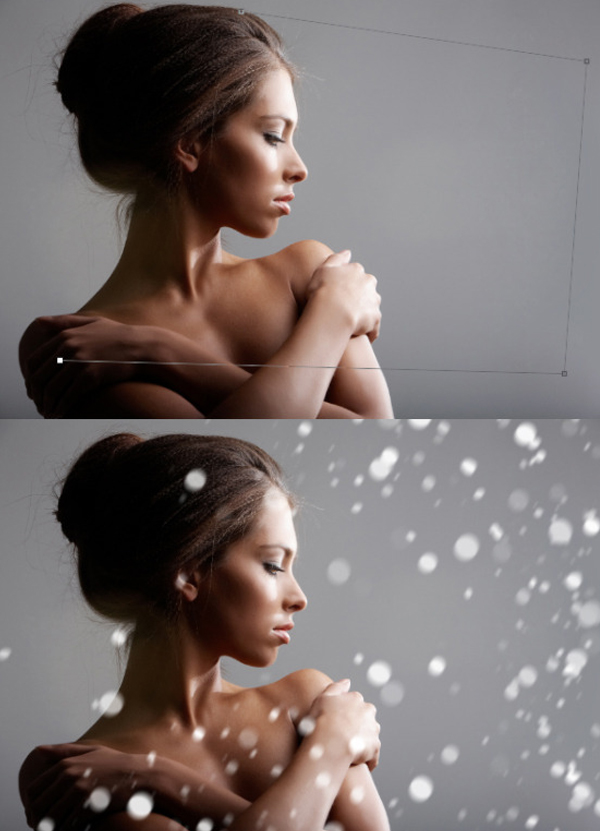Beautiful Snow Actions Photoshop