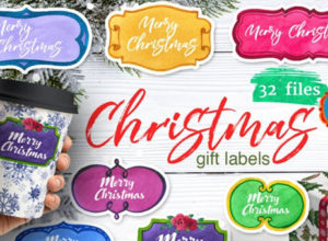 Best Christmas Label Templates