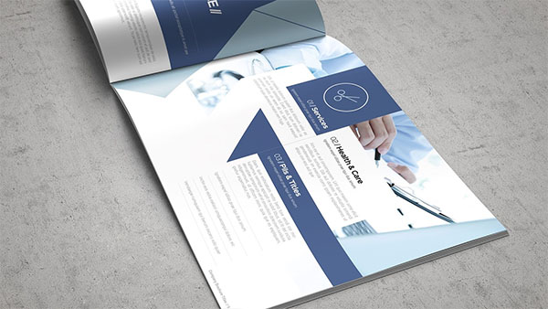 Best Health & Care Brochure Template