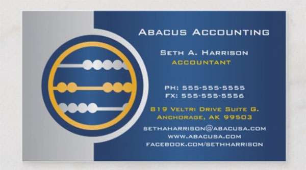 Blue Abacus Accounting Business Cards