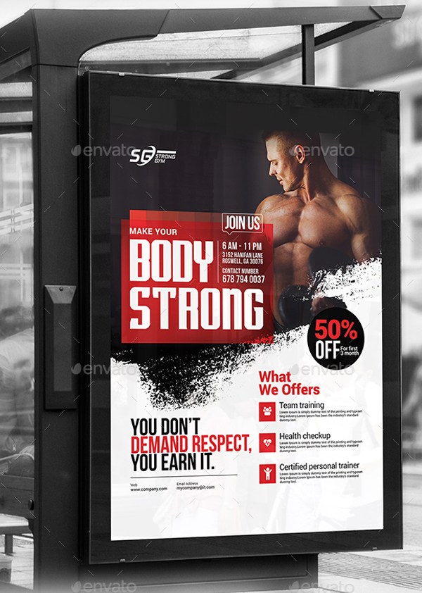 Body Strong Fitness Flyer