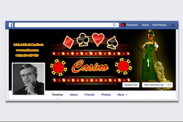 Casino Facebook Timeline Cover