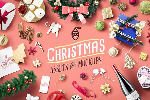 Christmas Assets & Mockups